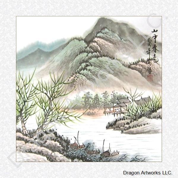 chinese art mountains - photo #34