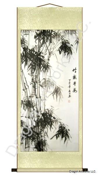 Chinese Scroll Painting Asian Antiques Other Asian Antiques